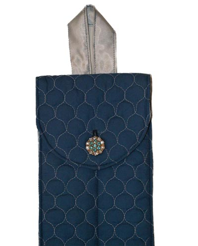 Blue Double Cane Cover
