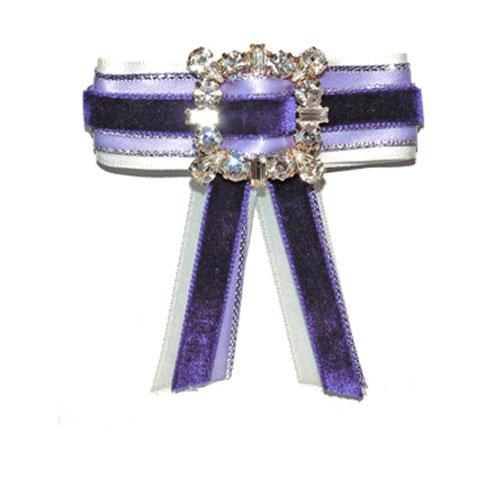Purple and Light purple bow