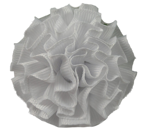 White Carnation Lapel