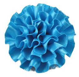 Aqua Cabbage Lapel