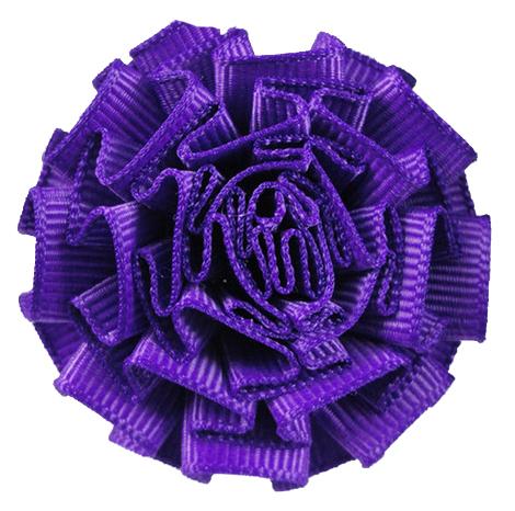 Purple Carnation Lapel