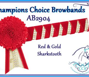 Carnation Browbands