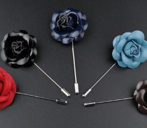 Leather Lapel Pins